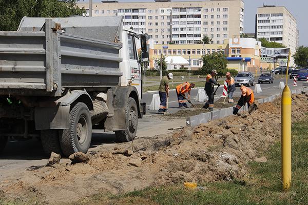 В связи с расширением улицы Ленина, в Рогачёве перенесут остановки общественного транспорта