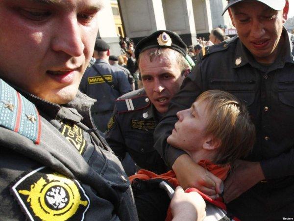 Сотрудники ППС разогнали детский праздник в Могилёве: организатор праздника арестован