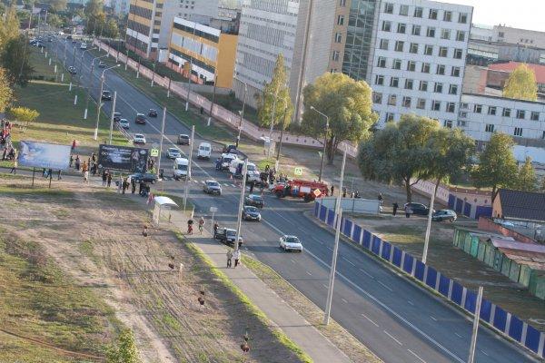 Фотофакт: страшная автокатастрофа по улице Богатырёва