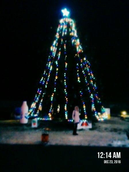 Фотофакт: На МКК Новогоднюю ёлку украсили лучше, чем на площади перед райисполкомом