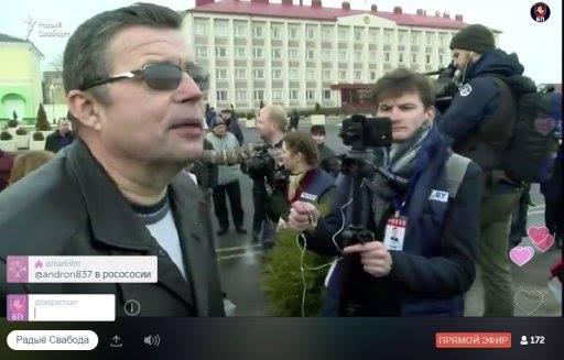 """Идеолог """"СГЦ Заречье"""" прикинулся """"тунеядцем"""" и провоцировал митингующих на конфликт"""