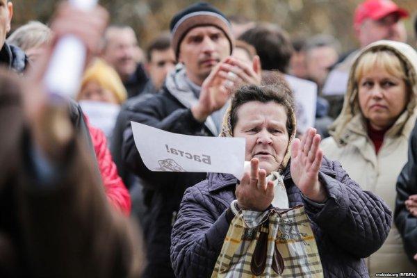 Жители Рогачёва: ситуация в районе с работой катастрофическая – видео Белсат ТВ