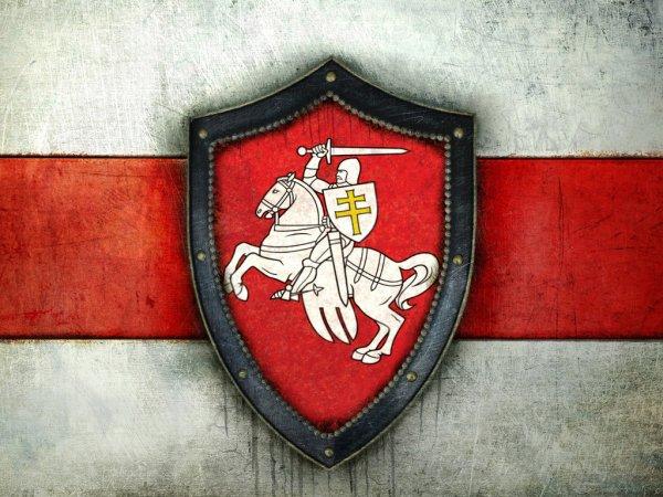 """Герб """"Пагоня"""" и Бело-Красно-Белый флаг: настоящие исторические символы Беларуси"""