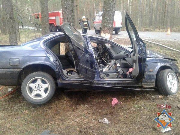 Фотофакт: страшная авария под Щибрином