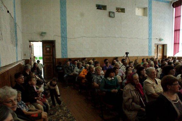 Видеорепортаж: Концерт в агрогородке Поболово собрал более двухсот человек