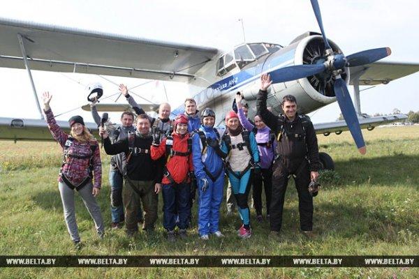 Фото-видео репортаж: В Рогачёве проходит чемпионат РБ по планерному спорту