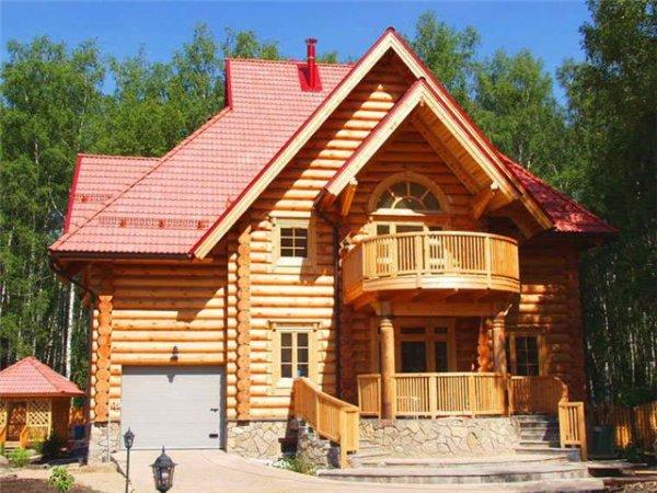 Преимущества строительства дома из дерева