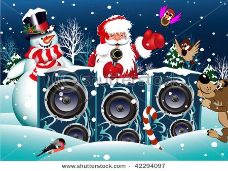 Ночная новогодняя дискотека с Дедом Морозом и Снегурочкой пройдёт в Поболово в новогоднюю ночь