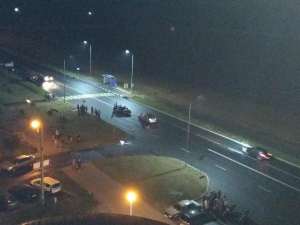 Жуткое ДТП в 3-м микрорайоне: водитель на высокой скорости сбил на пешеходе молодого парня – фотофакт
