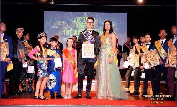 Рогачёвец получил в Испании титул Mister Tropics – 2018