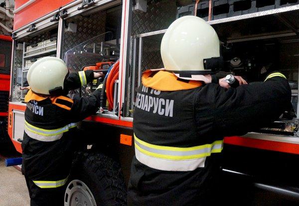 На пожаре в Гродно погиб человек