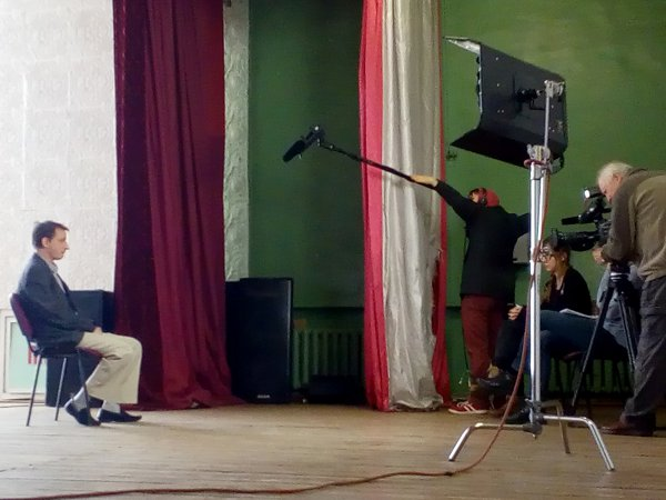 Киностудия «Беларусьфильм» снимает документальный фильм о деятельности Дашкевича и его команды