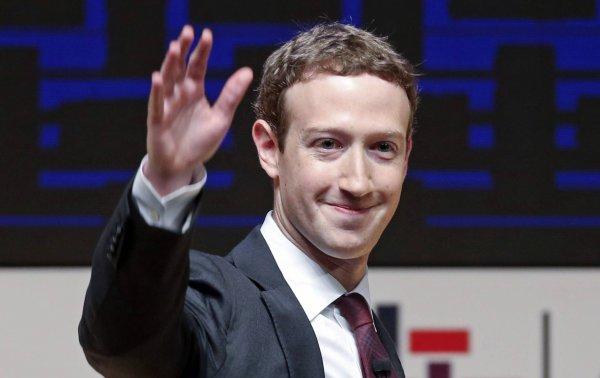 В Рогачёв едет создатель социальной сети «Фэйсбук» Марк Цукерберг