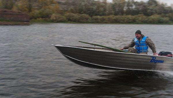 Едем на рыбалку с лодкой российского производства «Верта»