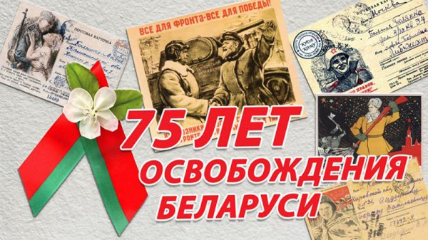 Программа праздничных мероприятий ко Дню независимости в Рогачёве