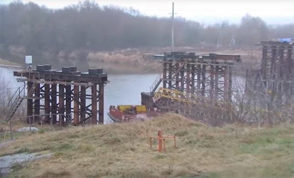 В Рогачеве планируют построить новый мост через Днепр — старый признан аварийным