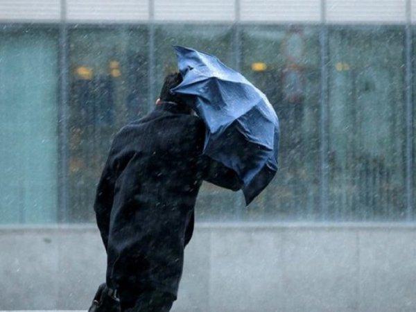 На сегодня объявлено штормовое предупреждение: дождь, снег и ветер