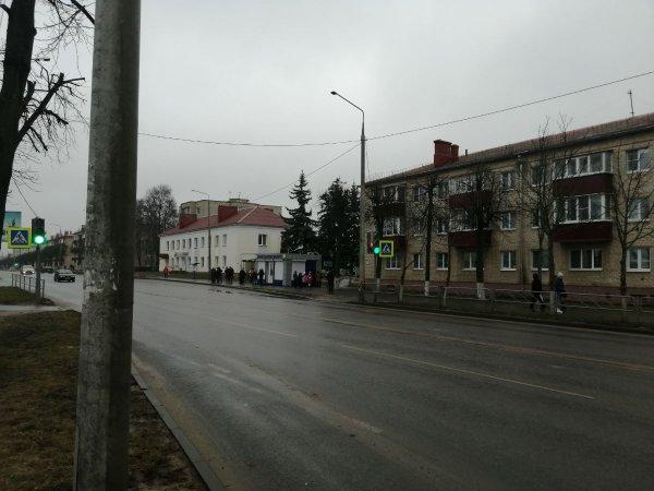 Рогачевский автопарк «забыл» повесить расписание автобусов на остановке Райисполкома