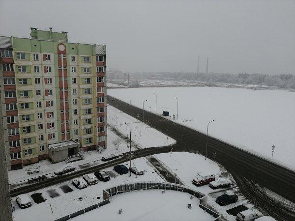 Фотофакт: В Рогачев пришла зима! Надолго ли?