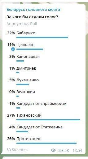 Если бы выборы состоялись завтра? Опросы белорусов в интернете показали неожиданные результаты