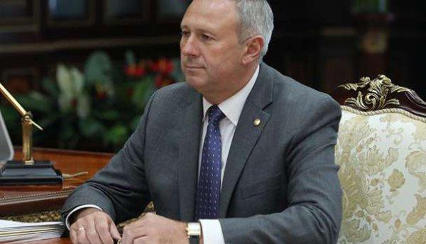 Премьер –министр Беларуси Сергей Румас подал прошение уйти в отставку