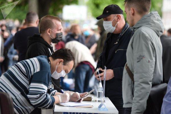 В Рогачёве два дня подряд будут проходить пикеты в поддержку выдвижения Виктора Бабарико