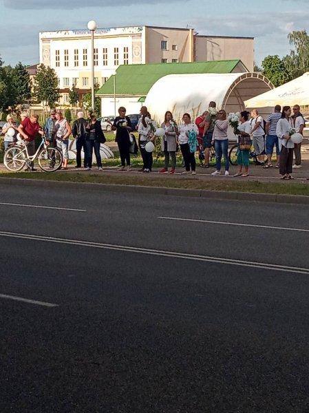 В Рогачёве продолжают проходить массовые акции солидарности – фото, видео