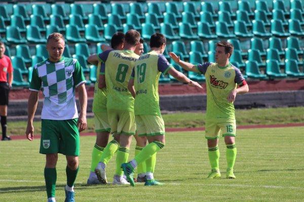 Днепр» Рогачев является лидером Второй лиги по количеству волевых побед