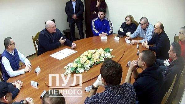 Лукашенко встретился в СИЗО КГБ Виктором Бабарико и членами КС