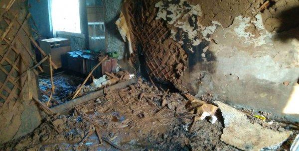 В Рогачеве на пожаре погиб пенсионер