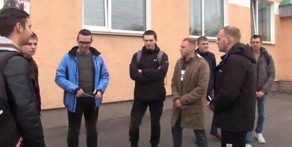 Рогачёвские идеологи сняли эпичное видео с призывниками в поддержку Лукашенко, и опозорились на всю страну – видео