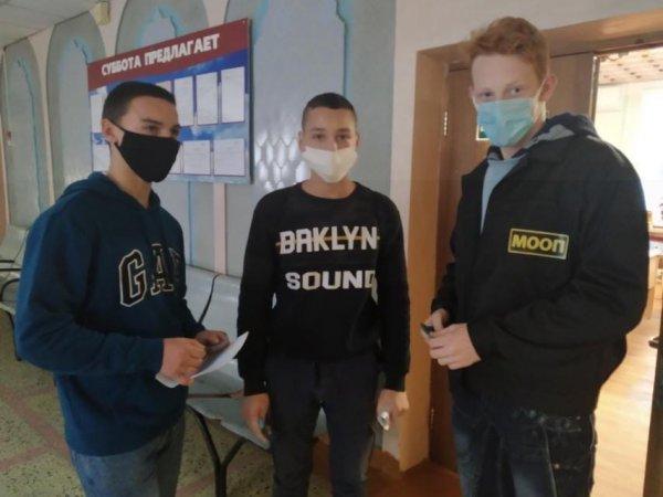 Рогачёвский колледж строителей набирает бойцов в молодёжные отряды охраны порядка – фото