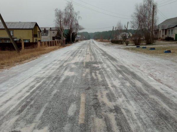 Фотофакт: Вот как выглядят дороги в Рогачёве сегодня – власти ждут новых смертей?