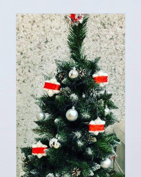 Фоторепортаж: Как жители Рогачёва украшали свои квартиры к Новому году