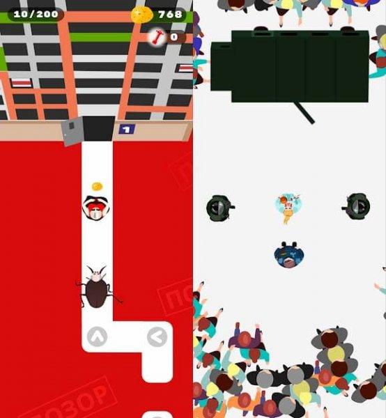 В Google Play появилась игра «Крэпки арэшак»: она посвящена событиям в Беларуси