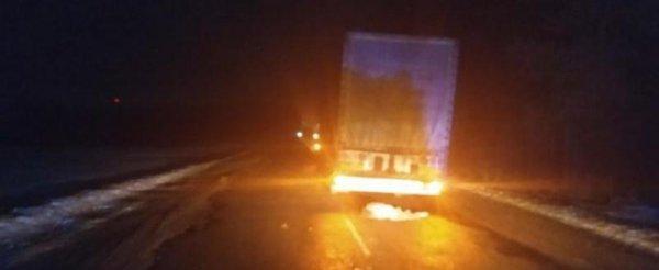 В Брестской области фура насмерть переехала лежавшего на дороге мужчину