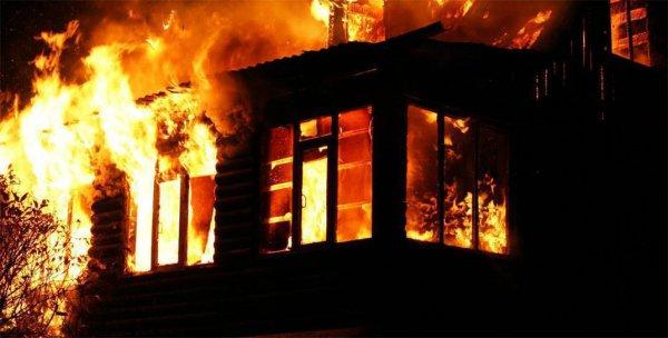 В Быховском районе на пожаре погиб мужчина