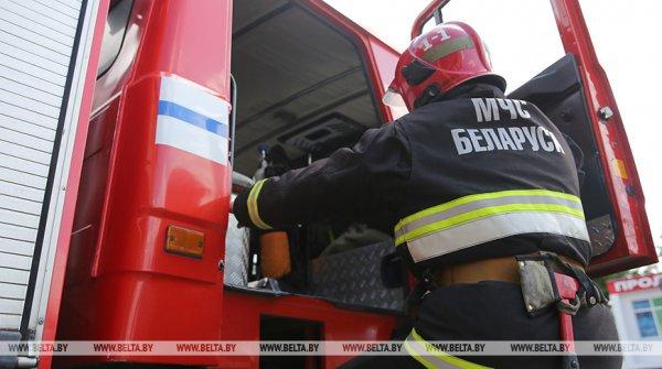 В Сенненском районе при пожаре погиб мужчина