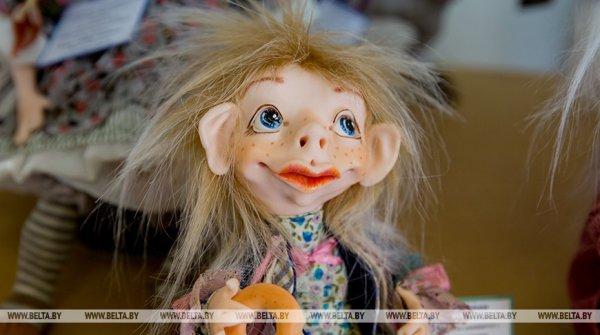 В Гомеле открывается выставка авторских кукол и мишек Тедди