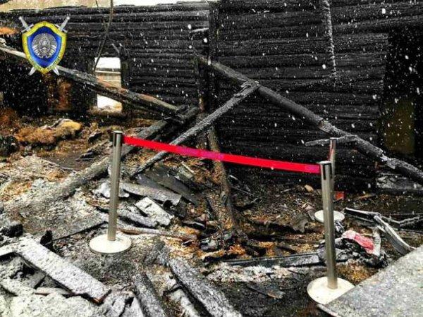 На пожаре в Минском районе погибло три человека