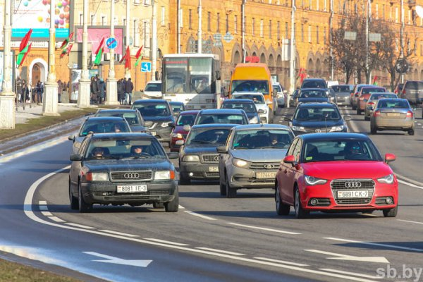 В Гомельской области на участках трёх дорог установлены мобильные датчики контроля скорости
