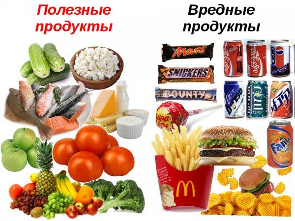 Продукты, которые считаются вредными, но таковыми не являются
