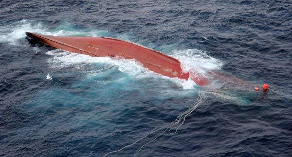 В Китае утонуло 12 человек в результате крушения рыболовецкого судна