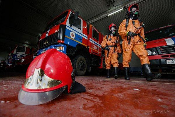 При пожаре в общежитии в Бресте удалось спасти десять человек