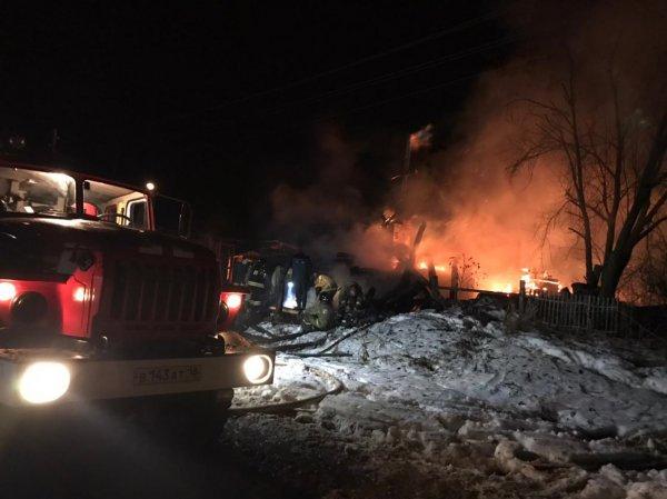 В Миорском районе при пожаре погибла 88-летняя женщина