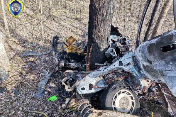 В жутком ДТП в Пинском районе погиб водитель и 18-летняя пассажирка