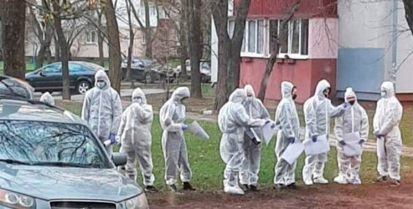 В Минске задержали группу людей, которые пришли поздравить подругу с днём рождения