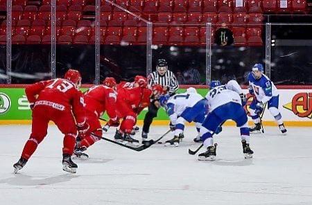 Сборная Беларуси потерпела разгромное поражение от Словакии со счётом 2:5