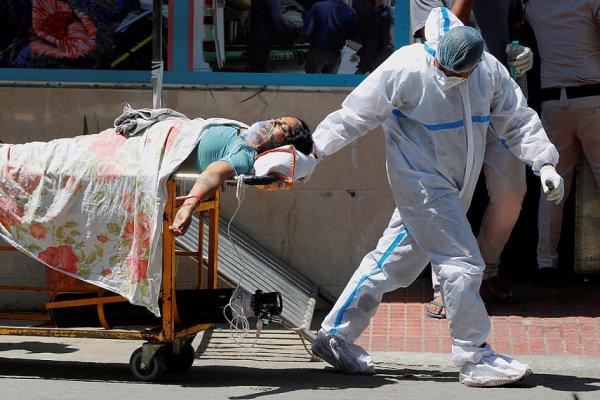 Ещё один антирекорд по смертности от коронавируса установлен в Индии
