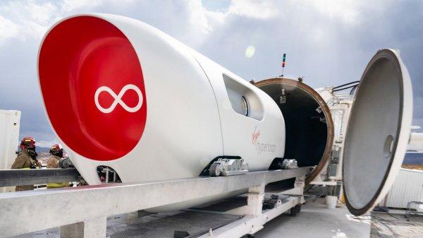 Virgin Hyperloop готовит революцию в сфере путешествий